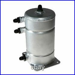 APS Aluminium Fuel Swirl/Collector Pot with 3xAN-6 & 1XAN-8 male Fittings