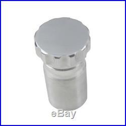 ASI 38.1mm Aluminium Weld On Filler Neck 52mm Cap For Dry Sump Fuel Oil Tank