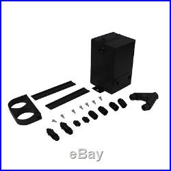 ASI 3L BLACK SURGE TANK Y Block Bracket DUAL EFI BOSCH 044 FUEL PUMP