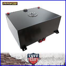 Aeroflow 76lt Anodized Black Baffled Fuel Cell with Sump & Sender AF85-2200ASBLK
