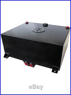 Aeroflow Aluminium 95L Fuel Cell Cavity/Sump & Fuel Sender Black AF85-2250ASBLK