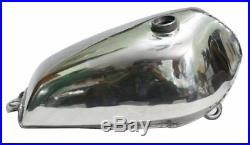 Aluminium Alloy Yamaha XT 500 Motorcycle Petrol Fuel Tank With Filler Cap GEc