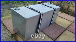 Aluminium Fuel Tank Aprox 20 UK Gallon (90lt) Large Tank withFuel Sender & Straps