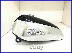 Aluminium Gas Petrol Fuel Tank For Yamaha Xt Tt 500 1U6 1980 Black Paint
