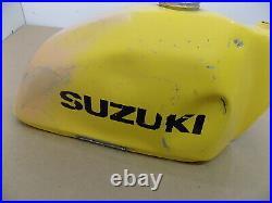 Aluminum Fuel Gas Tank / 1977 77' Suzuki Pe-250 Pe250 / Signed By Roger Decoster