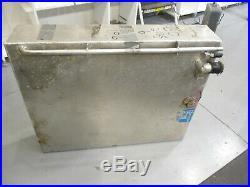 Aluminum Marine Boat Gas Fuel Tank 19 Gallon 30 x 24.25 x 6