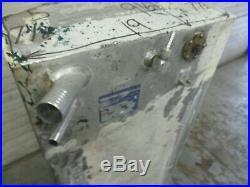 Aluminum Marine Boat Gas Tank Fuel Cell 34 Gallon 48 x 19 x 9.5