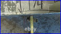 Aluminum Marine Boat Gas Tank Fuel Cell 46 x 40 x 9 1/4