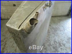 Aluminum Marine Boat Gas Tank Fuel Cell 48 1/4 x 39 x 9 55 GAL