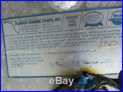 Aluminum Marine Boat Gas Tank Fuel Cell 55 Gallon 41 x 31 x 10