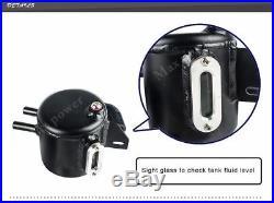 Aluminum oil catch tank system 2.0 ea888 engine for audi vw vehicles black fuel