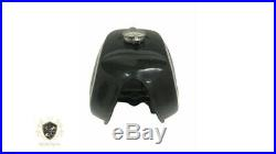 BMW R100 RT RS R90 R80 R75 BLACK & SILVER PAINTED ALUMINUM PETROL TANKFit For