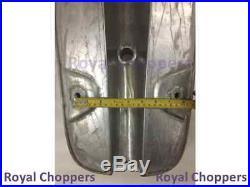 BSA A65 SPITFIRE HORNET 2 GALLON ALUMINUM FUEL TANK + FREE FUEL CAP (Brand New)