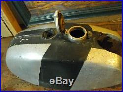 BSA Alloy Gas Tank Fuel Vintage Cafe Aluminum B50 B25 Triumph TR25