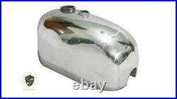 BSA B25 B 40 44 C15 Victor Enduro Alloy Gas Fuel Tank Fit For