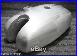 BSA B25 B40 B44 B50 Victor trials scrambler aluminum alloy gas fuel petrol tank