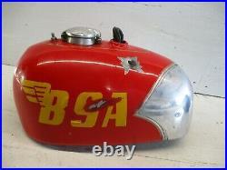 BSA Victor Aluminum Alloy Gas Fuel Tank GS