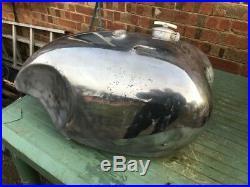 BSA aluminium fuel tank for gold star or A10