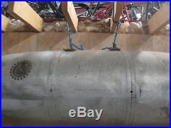 Belly fuel drop tank aluminium lakester hot rod bonneville salt flats