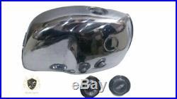 Bmw R100S R100Cs R100Rs R100Rt Aluminum Petrol Tank With Cap+ Monza CapFit For