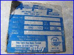 Boat Fuel Tank ALUMINUM 13 Gallon