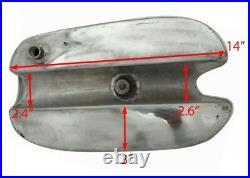 Bsa B25 B 40 44 C15 Victor Enduro Trials Scrambler Alloy Gas Fuel Tank GEc