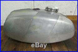 Bsa B50 B50mx Aluminium Ally Gas Fuel Petrol Tank & Cap