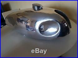 CB750 Cafe Racer Polished Aluminium Tank And Bodywork Set
