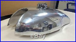 Cafe Racer Gas Tank, Aluminum Alloy, Lyta Sprint Vintage reproduction