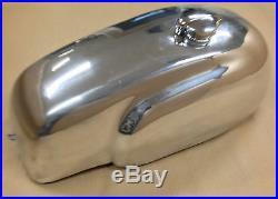 Cafe Racer Gas Tank, Aluminum Alloy, Monza Cap, Manx TT, Universal Fit