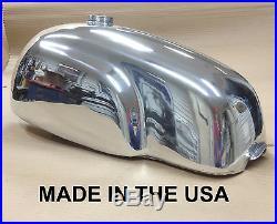 Cafe Racer Gas Tank, Aluminum, Manx TT, Honda CB750, Special Custom Bottom