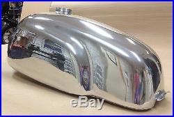 Cafe Racer Gas Tank, Manx TT, Aluminum Alloy, Triumph Bonneville, Thruxton EFI