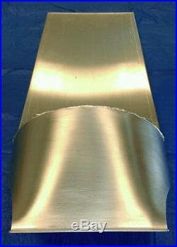 Cafe Racer Seat Pan, Aluminum, Custom Made Width And Length