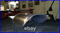 Cafe Racer, tracker Seat Pan, aluminum. (made to your dimensions)made in USA