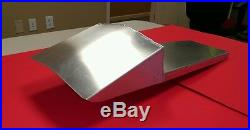 Cafe racer aluminum motorcycle seat, made to your dimension, made in USA