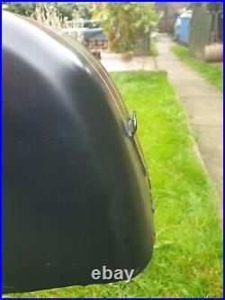 Classic motorcycle race, cafe racer aluminium petrol tank honda