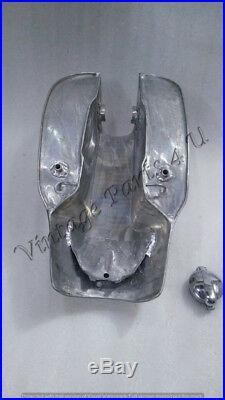 Custom Cafe Racer Aluminum Alloy Gas Fuel Petrol Tank Triumph Norton Lyta Ajs