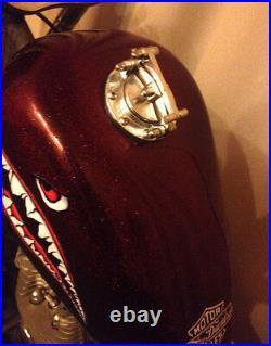 Custom Gas tank caps Hammer1 cover Harley Davidson, Bobber, Chopper, Cafe Racer