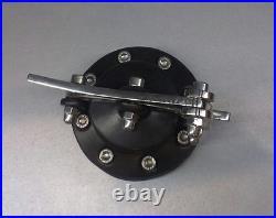 Custom Speed1 Black Gas tank cap cover Harley Davidson Bobber Chopper CafeRacer