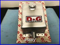 D&G Chassis BILLET ALUMINUM GAS FUEL CELL TANK DRAGBIKE KZ1000 GS1100 GS1150