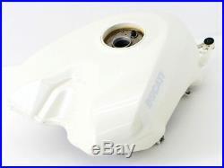 DUCATI 1198 Aluminum Fuel Gas Tank White 848 1098R yyy