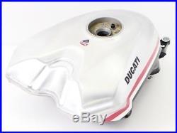 DUCATI 1198S CORSE Genuine Aluminum Fuel Gas Tank 848 1098 yyy