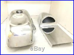 DUCATI 750 SS ALLOY CAFE RACER PETROL TANK WITH SEAT HOOD Fits For