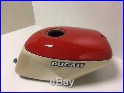 Deposito Original Ducati 851 Tricolore Fuel Tank Aluminium SP SP3 888