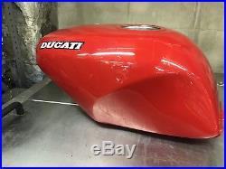 Ducati 851 OEM ALUMINUM FUEL TANK