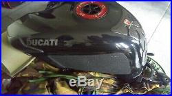 Ducati OEM aluminium aluminum fuel gas tank 848 1098 1198