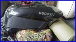 Ducati Oem Aluminium Fuel Tank 848 1098 1198 Sbk