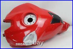 Ducati Panigale 1199 1299 899 959 Aluminum Fuel Gas Tank Fairing Tin DAMAGE