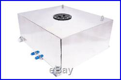 Fabricated Aluminum Fuel Cell 20 Gallons without Sending Unit AN 8
