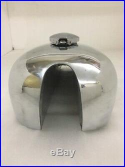 Fit for BSA A65 SPITFIRE HORNET 2 GALLON ALUMINUM FUEL TANK + FREE FUEL CAP -New